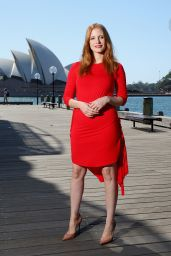 "Jessica Chastain - ""Mollys Game"" Photocall in Sydney"