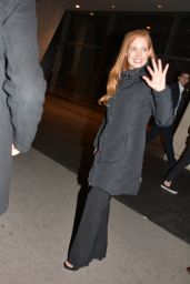 Jessica Chastain - SNL Afterparty in New York City