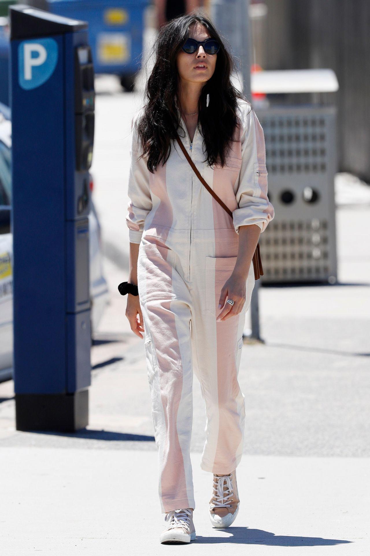 Jessica Gomes - YSL Fashion in Bondi, Sydney