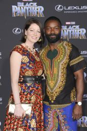 """Jessica Oyelowo – """"Black Panther"""" Premiere in Hollywood"""