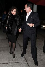 Joan Collins and Percy Gibson at Craig
