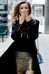 "Joanna Krupa - Leaves ""Good Morning TVN"" in Warsaw"