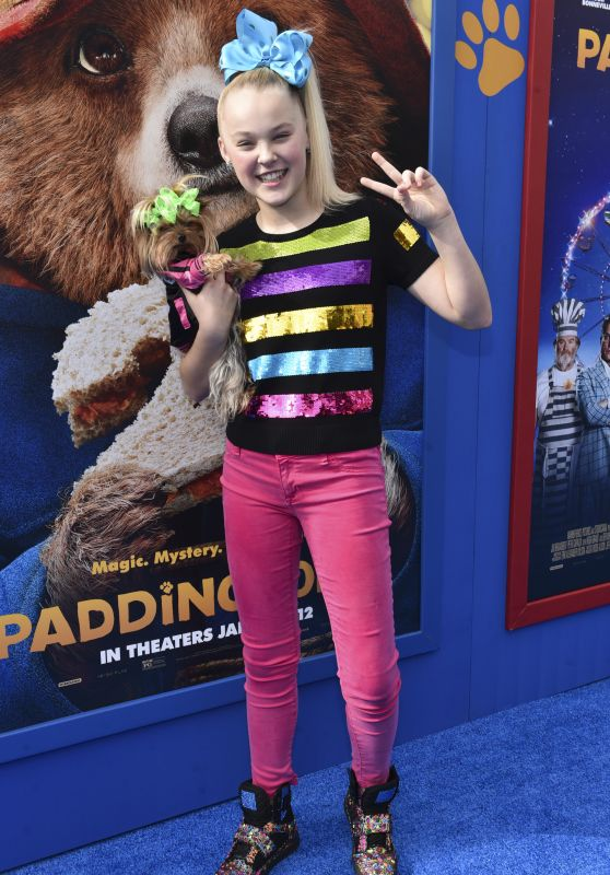 "Jojo Siwa - ""Paddington 2"" Premiere in Los Angeles"