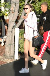 Josie Canseco Leggy in Shorts at Fred Segal in West Hollywood