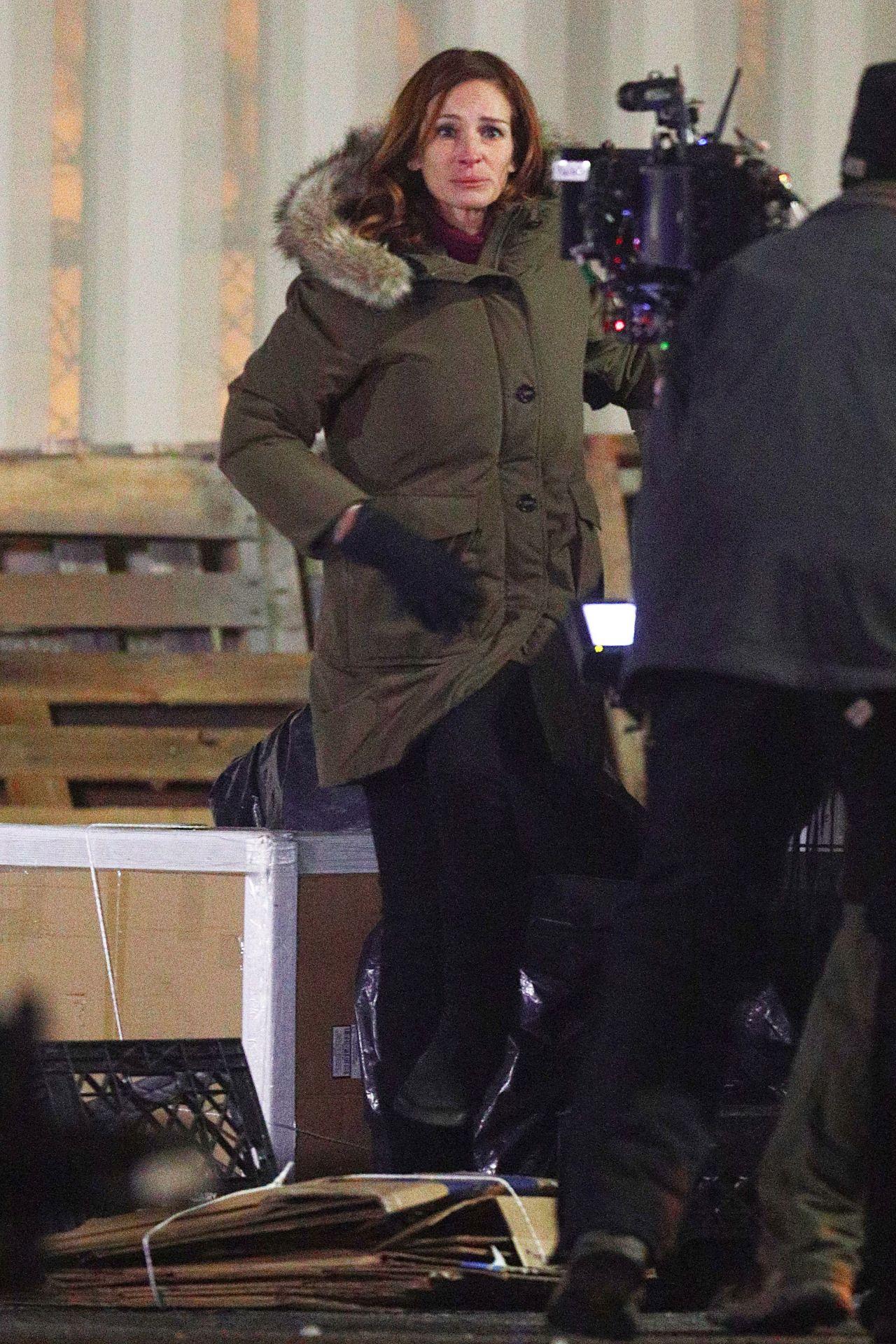 Julia Roberts Quot Ben Is Back Quot Filming In The Bronx
