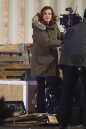 """Julia Roberts - """"Ben Is Back"""" Filming in the Bronx"""