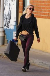 Julianne Hough After a Workout in Los Angeles 01/26/2018
