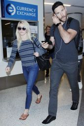 Julianne Hough at LAX Airport in Los Angeles 01/21/2018