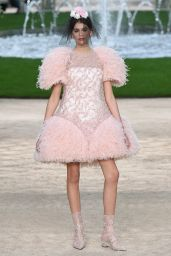 Kaia Gerber Walks Chanel Haute Couture Show - Paris Fashion Week, January 2018