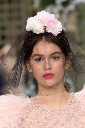 Kaia Gerber Walks Chanel Haute Couture Show - Paris Fashion Week, January 2018