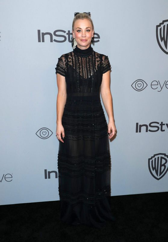 Kaley Cuoco – InStyle and Warner Bros Golden Globes 2018 After Party