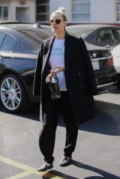 Kaley Cuoco Street Style - Los Angeles 01/23/2018