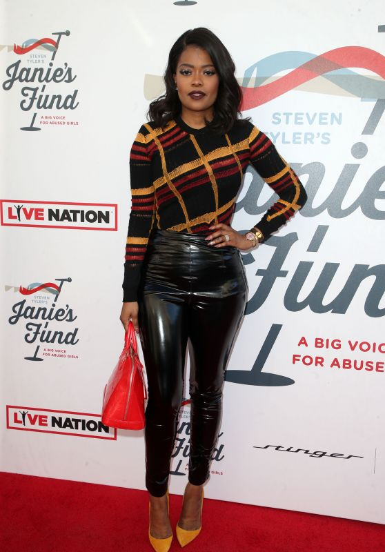 Karen Civil – Inaugural Janie's Fund Gala & Grammy Viewing Party in LA