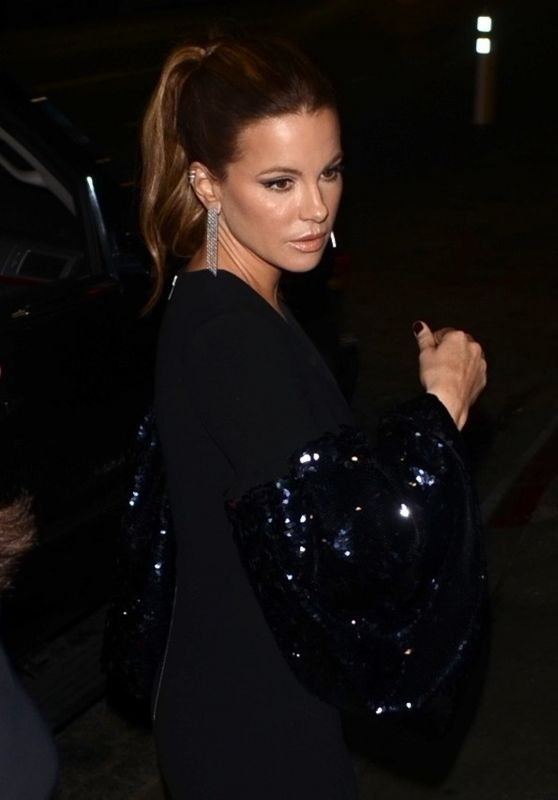 Kate Beckinsale at Poppy Nightclub for a Golden Globes Afterparty