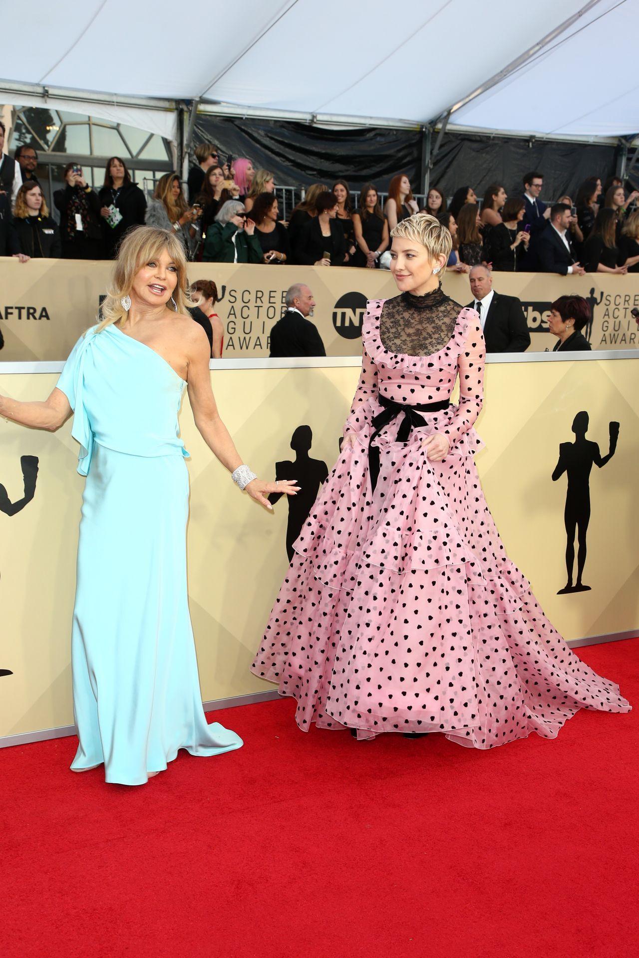Kate Hudson 2018 Sag Awards In La