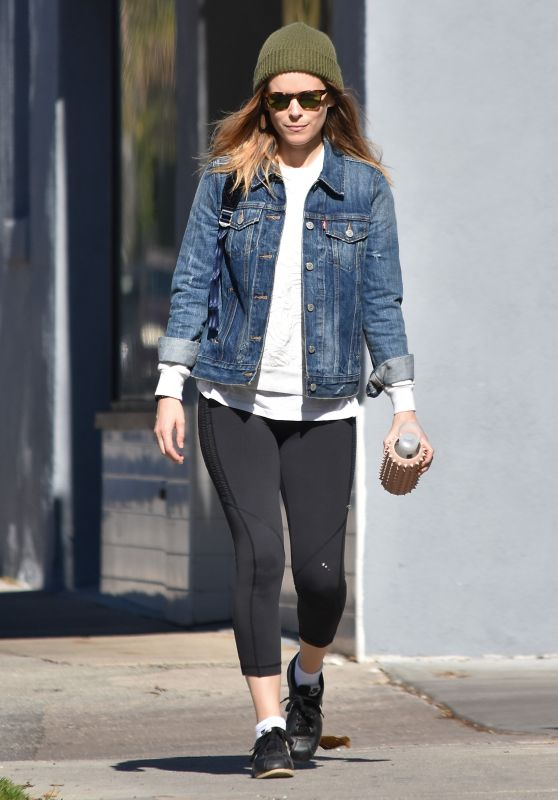 Kate Mara in Leggings - Out in LA 01/22/2018