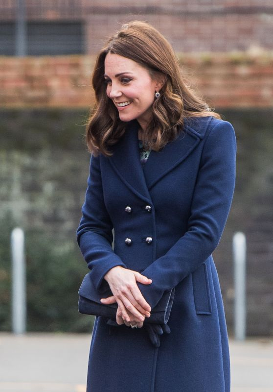 Kate Middleton at Reach Academy Feltham in London