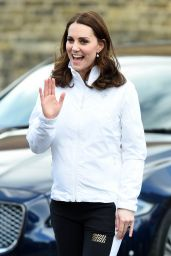 Kate Middleton - Bond Primary School in Mitcham London 01/17/2018
