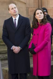 Kate Middleton - Coventry Cathedral in Coventry, England