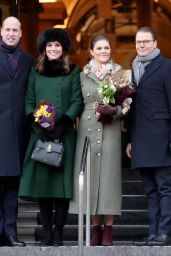 Kate Middleton - Out in Stockholm 01/30/2018