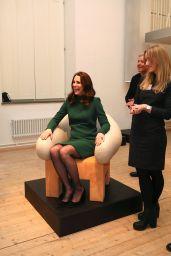 Kate Middleton - Visits ArkDes, Sweden