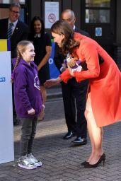Kate Middleton Visits Great Ormond Street Hospital in London