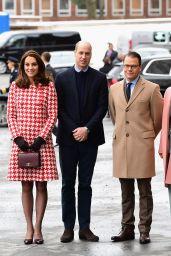 Kate Middleton - Visits the Karolinska Institute in Stockholm