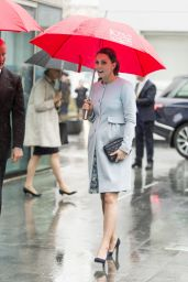 Kate Middleton Visits The Maurice Wohl Clinical in London