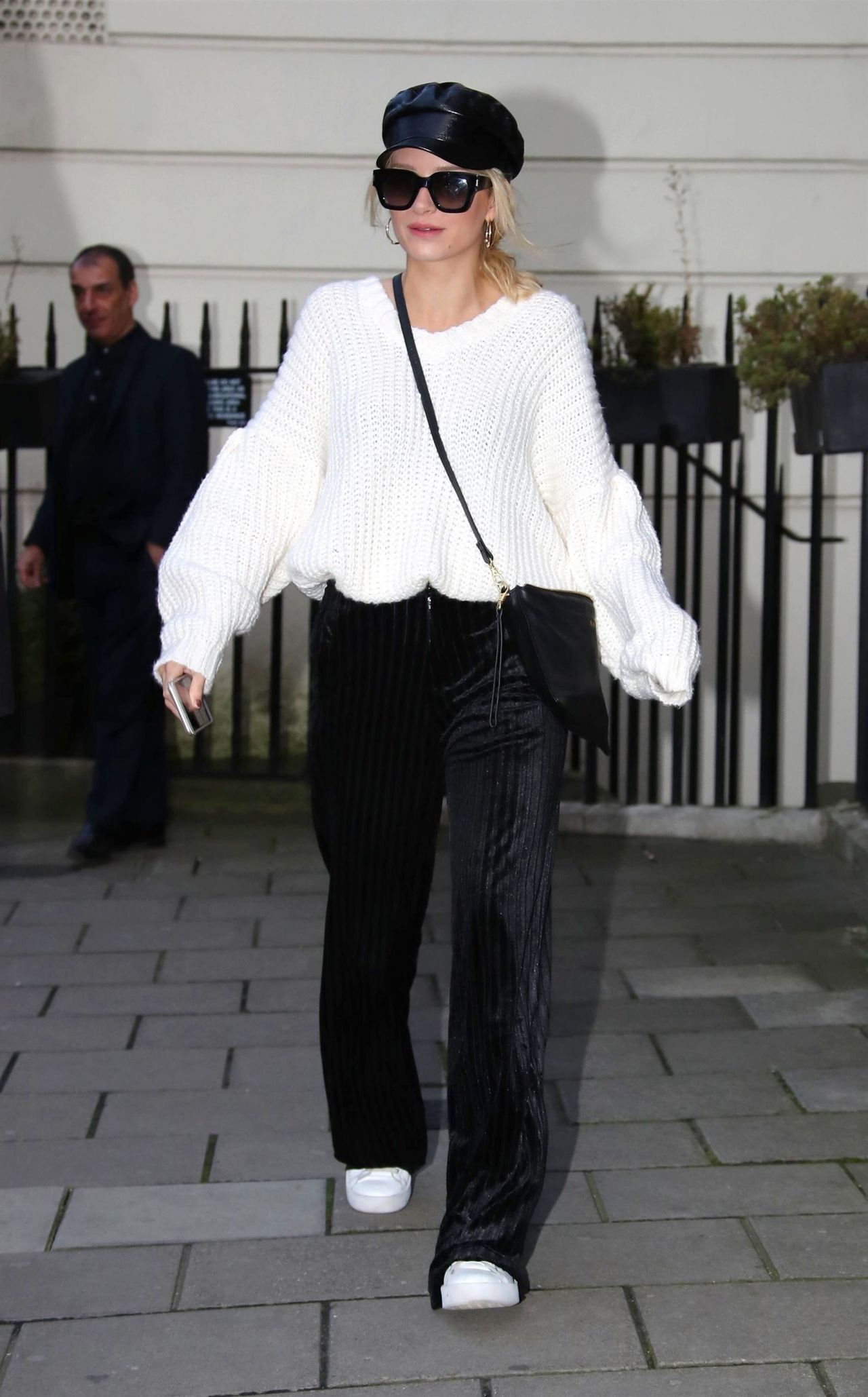 Kate Moss And Lottie Moss Leaving A Private Members Club In London