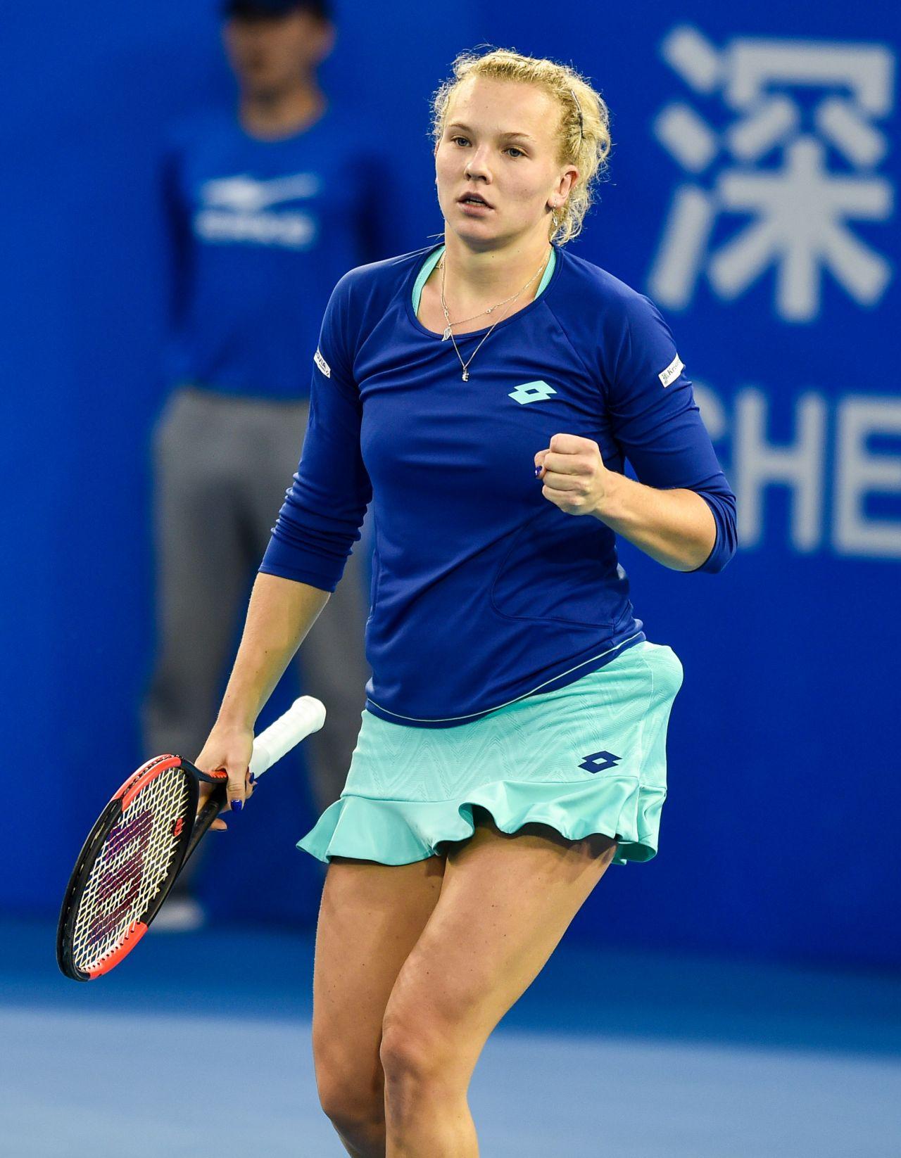 Katerina Siniakova - 2018 Shenzen WTA International Open in Shenzen