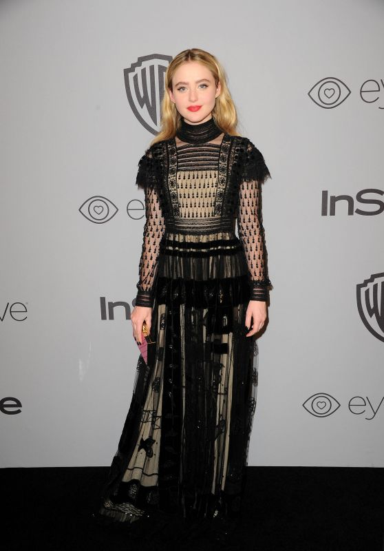 Kathryn Newton – InStyle and Warner Bros Golden Globes 2018 After Party