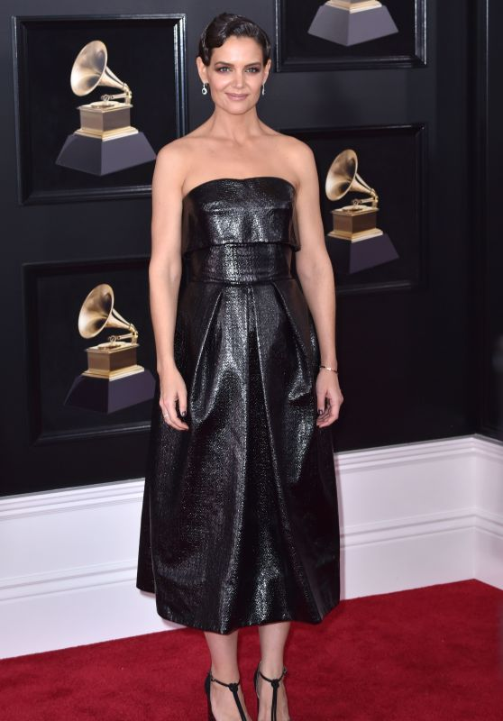 Katie Holmes – 2018 Grammy Awards in New York