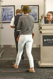 Katie Holmes - LAX Airport in Los Angeles 01/11/2018