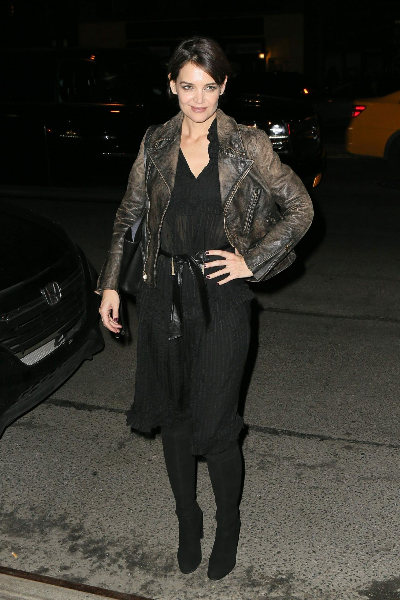Katie Holmes Night Out...