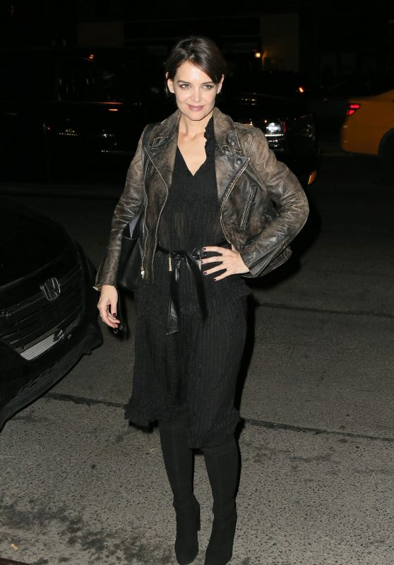 Katie Holmes Night Out - Bowery Hotel in New York 01/25/2018