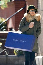 Katie Holmes - Shopping in the West Village of NYC