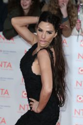 Katie Price – 2018 National Television Awards in London
