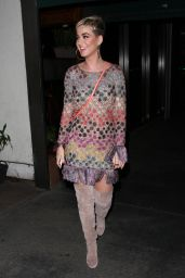 Katy Perry - Leaving Italian Restaurant Madeo in West Hollywood