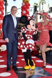 Katy Perry - Minnie Mouse Honored With Star on the Hollywood Walk of Fame in Hollywood