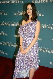 """Kaya Scodelario - """"Maze Runner The Death Cure"""" Premiere in Paris"""