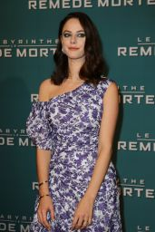 "Kaya Scodelario - ""Maze Runner The Death Cure"" Premiere in Paris"