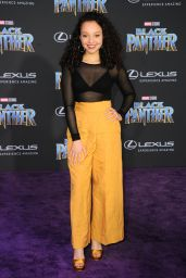 "Kayla Maisonet – ""Black Panther"" Premiere in Hollywood"