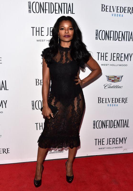 "Keesha Sharp - Los Angeles Confidential Celebrates ""Awards Issue"""