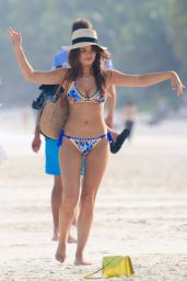 Keleigh Sperry in Bikini on the Beach in Mexico