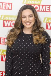 Kelly Brook - Loose Women TV Show in London 01/29/2018