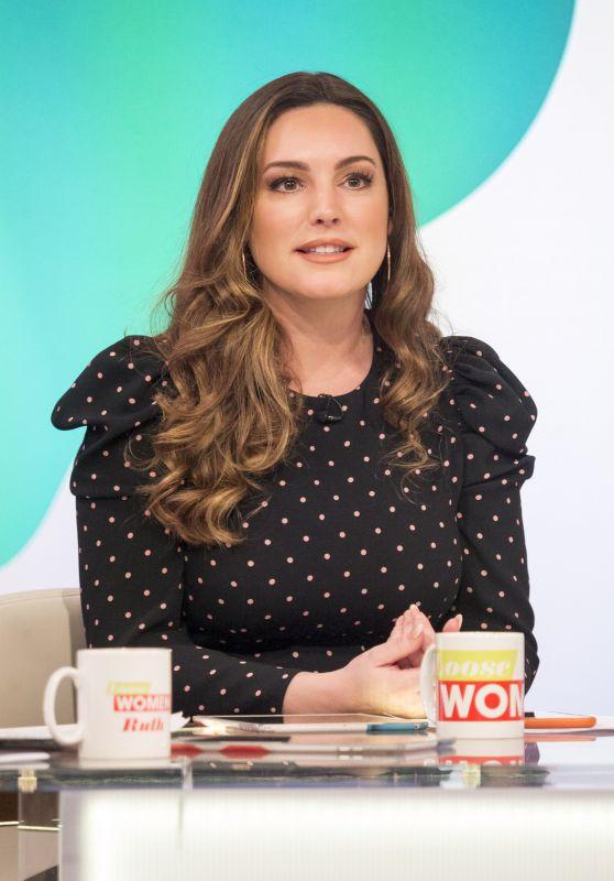 Kelly Brook - Loose Women TV Show in London 01/29/2018