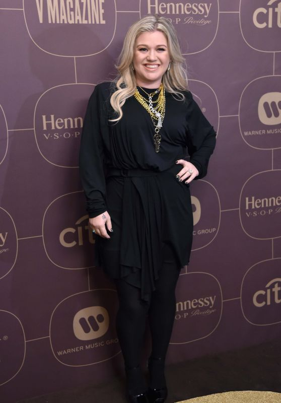 Kelly Clarkson – Warner Music Pre-Grammy 2018 Party in New York