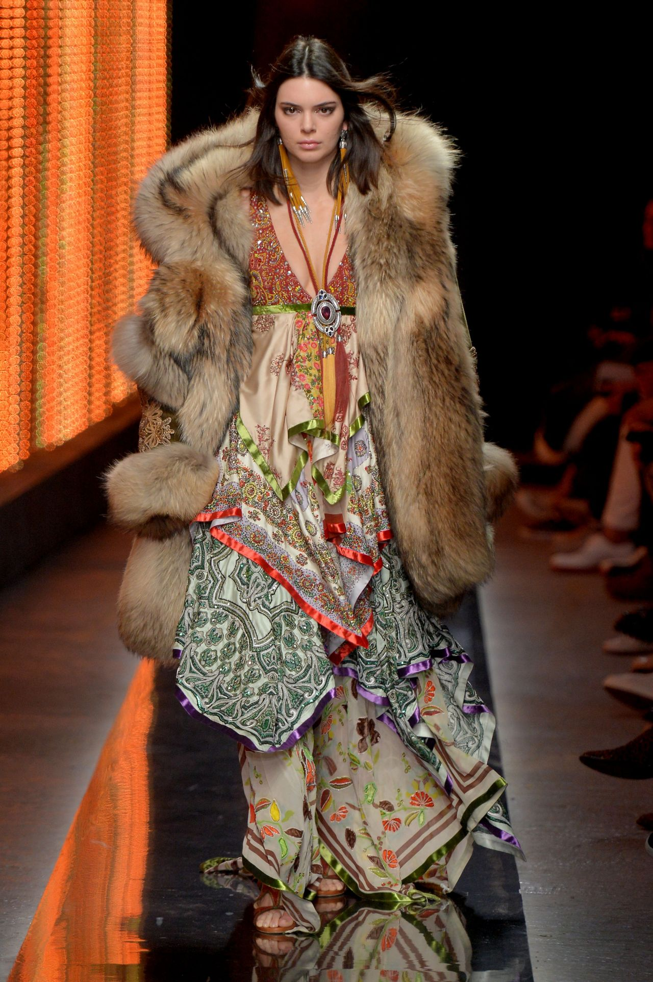 Kendall Jenner Dsquared2 Fashion Show In Milan