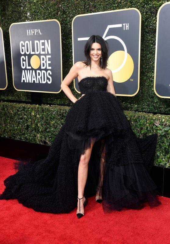 Kendall Jenner – Golden Globe Awards 2018