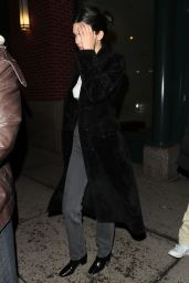 Kendall Jenner Heads to Dinner at Carbone in NYC